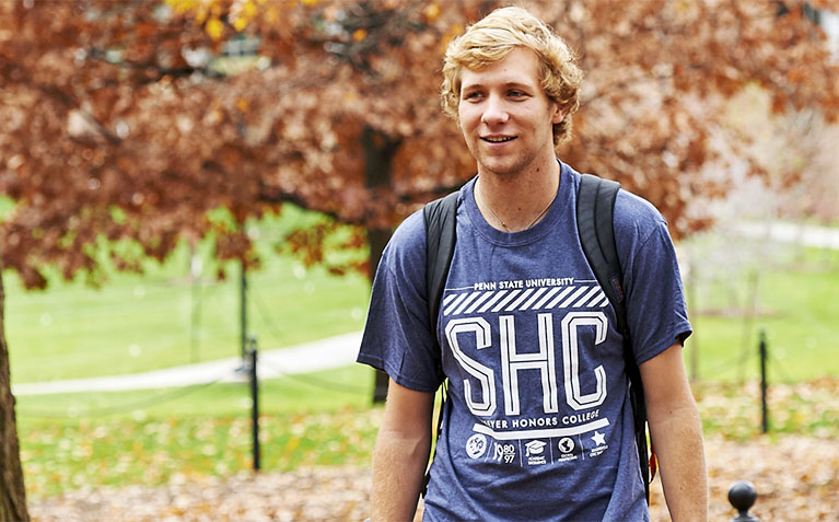 Schreyer Honors College t-shirt designs