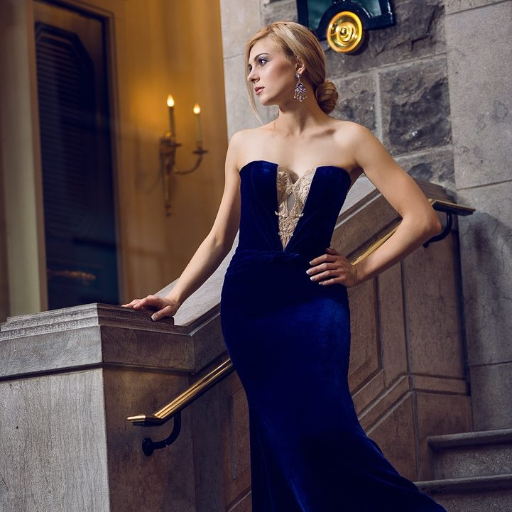 evening dress montreal