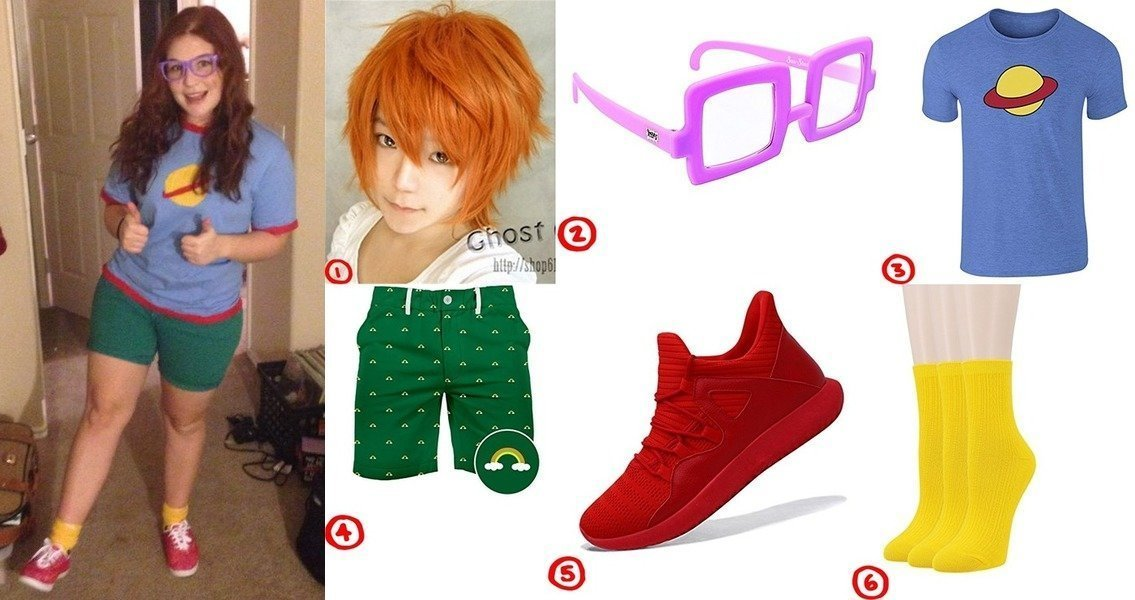 dress like chuckie finsters costume from rugrats for cosplay halloween 2018