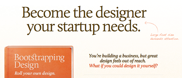 Bootstrapping Design eBook Become the designer your startup needs