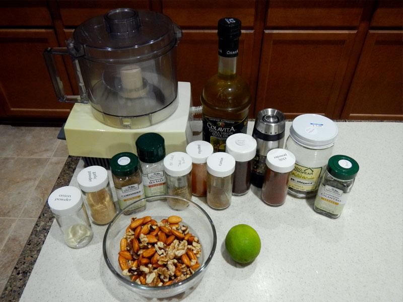 Taco Mix Set Up