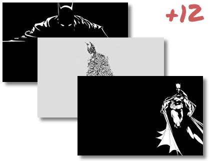 Batman Minimalist theme pack