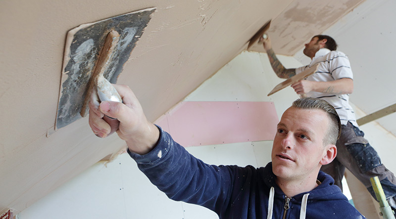 Image of a Local Heroes plasterer