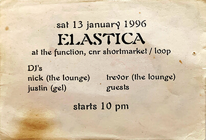 Elastica: First Funtion show 1996