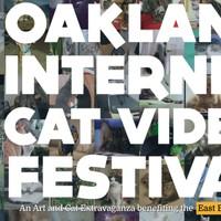 Oakland Internet Cat Video Festival splash page.