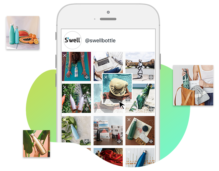 Preview posts with Visual Instagram Planner