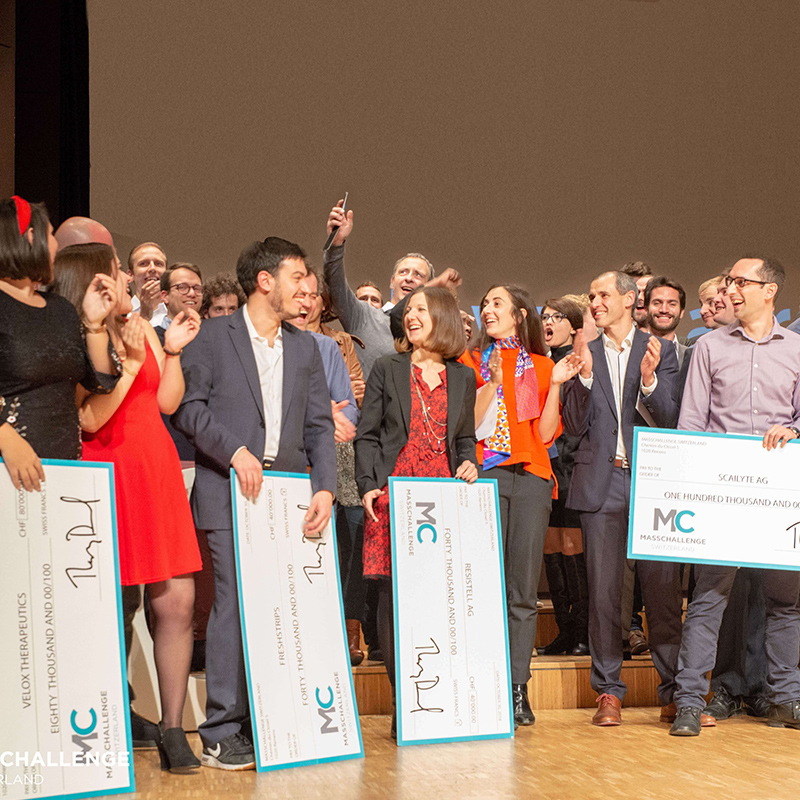 Resistell wins the MassChallenge Switzerland 2018 Gold Award