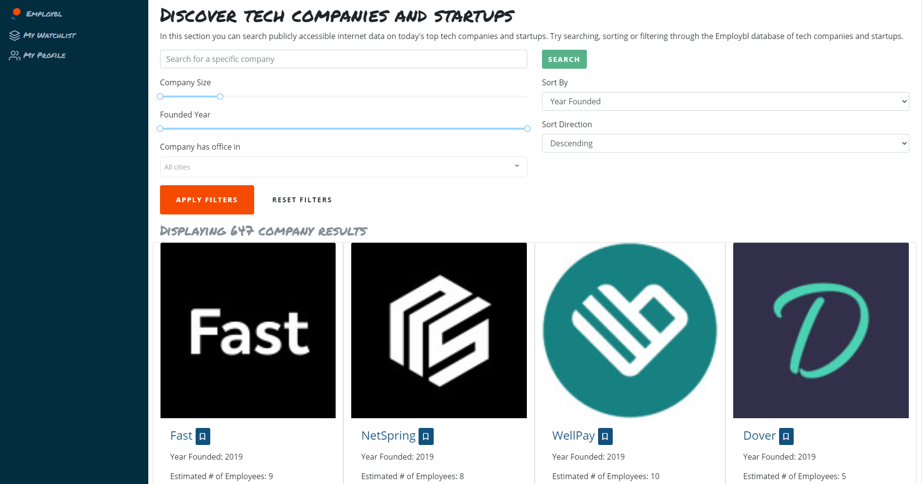 How Employbl Saved 250 Hours Building Their Career-Matching Database