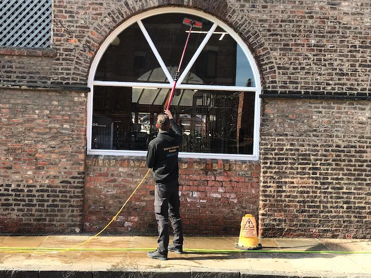Image of window cleaning