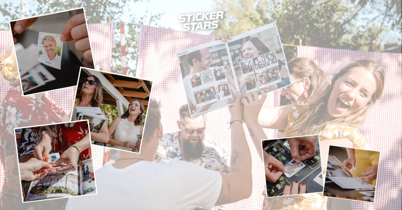 Geschenke von Trauzeugen: Sticker sammeln und tauschen
