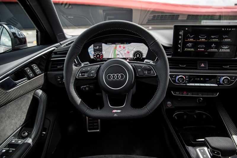 Audi RS4 Avant 2.9 TFSI quattro | 450PK | Sportonderstel Plus | Panoramadak | Inleg Carbon | B&O | Sportdifferentieel | Head-up afbeelding 12