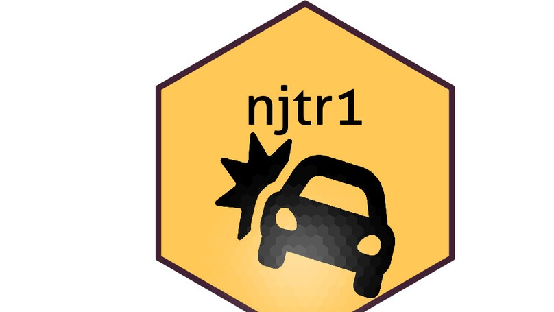 njtr1: An R package to download & analyze New Jersey car crash data