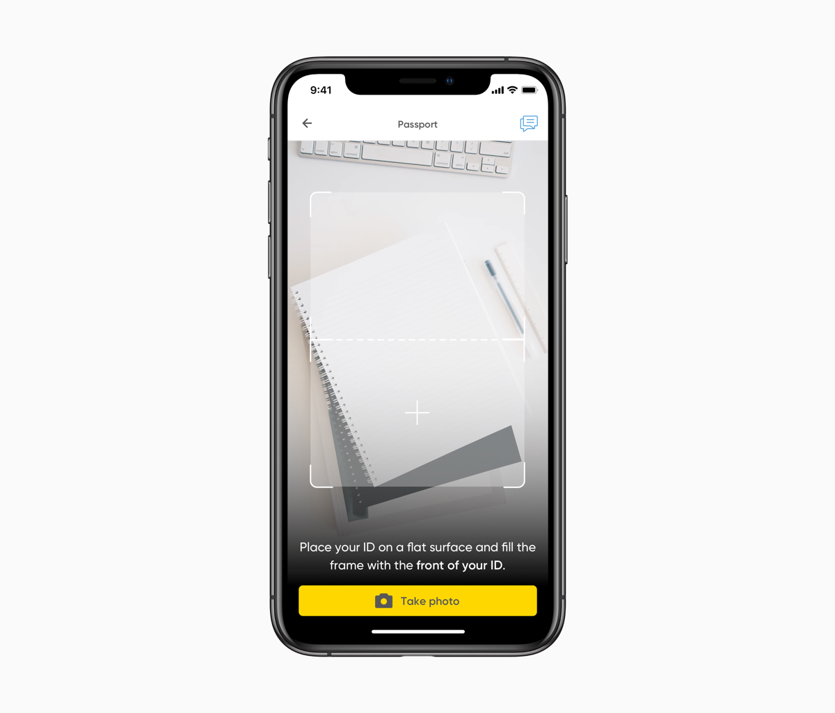iPhones showing the intial screens of the old onboarding process