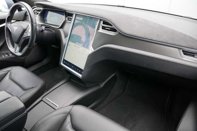 Tesla Model S P90D Performance Ludicrous 576pk / Autopilot / Pano / 21inch / Carbon / 162.500,- Nieuw afbeelding 10