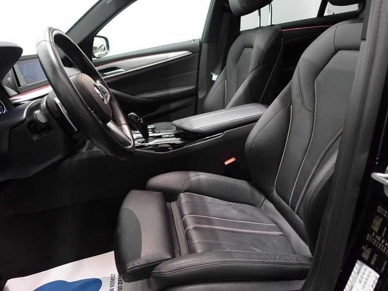 BMW 5 Serie Touring 520i High Exe 210pk M- Perfomance Powerkit- Pano, Leer, Full afbeelding 10