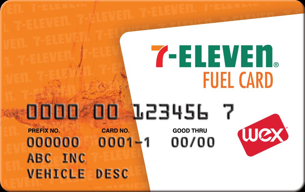 7 eleven card