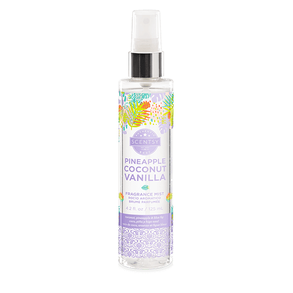 Pineapple Coconut Vanilla Fragrance Mist