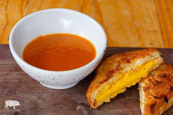 Imagen de Sopa de Tomates Ahumados