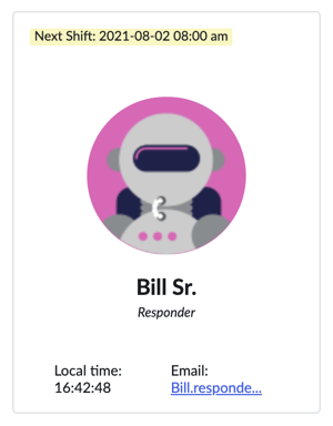 User added to a team on-call shift.