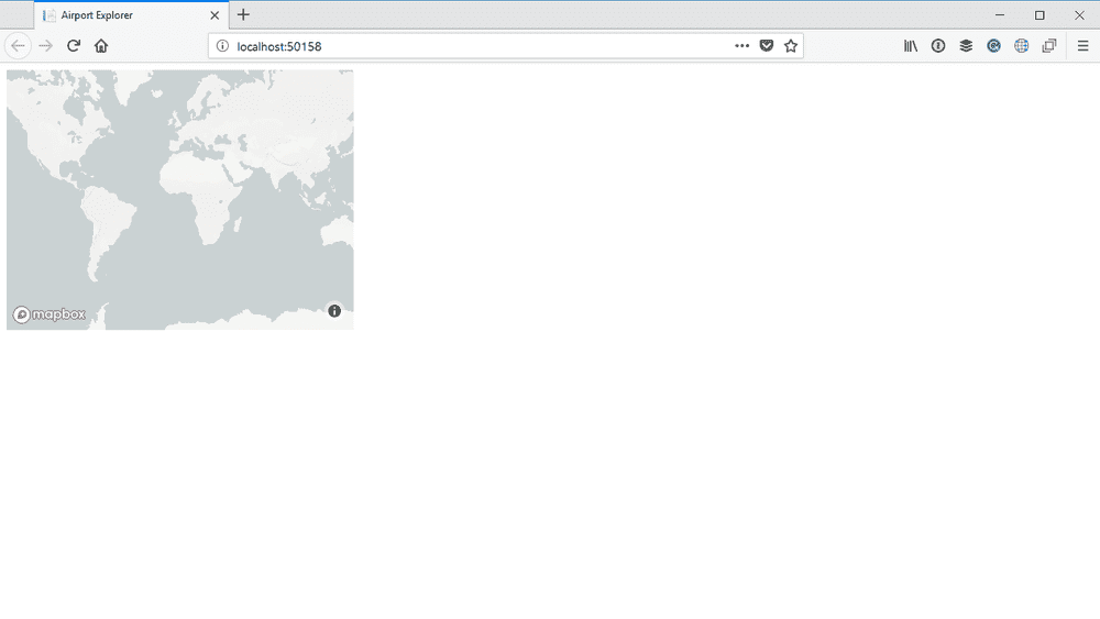 run app small map