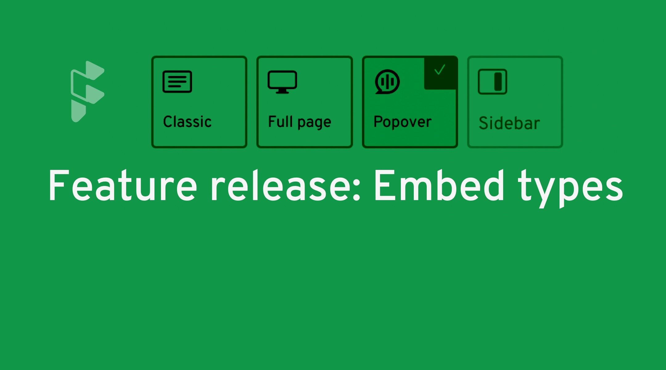 Feature release: Embed types - Formsure