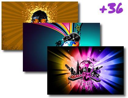 Music theme pack