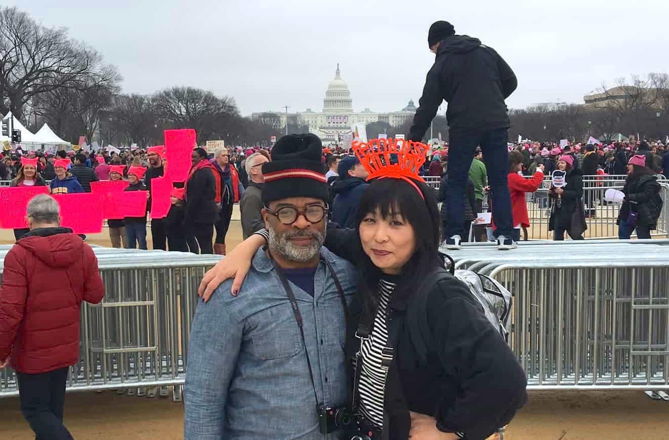 the D.C. Women's March