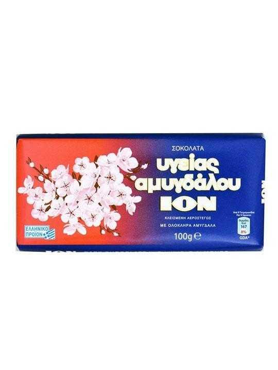 Dunkle Mandel Schokolade - 100g