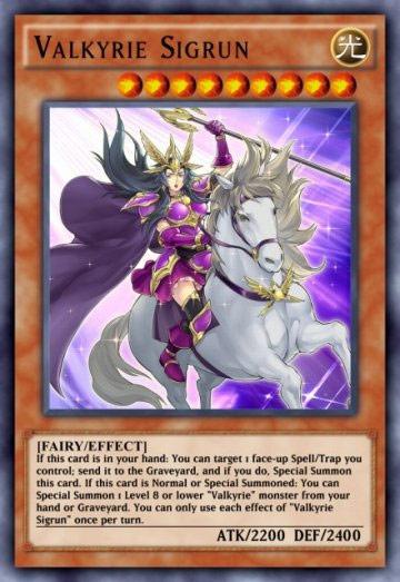 Duel Links Card: Valkyrie%20Sigrun