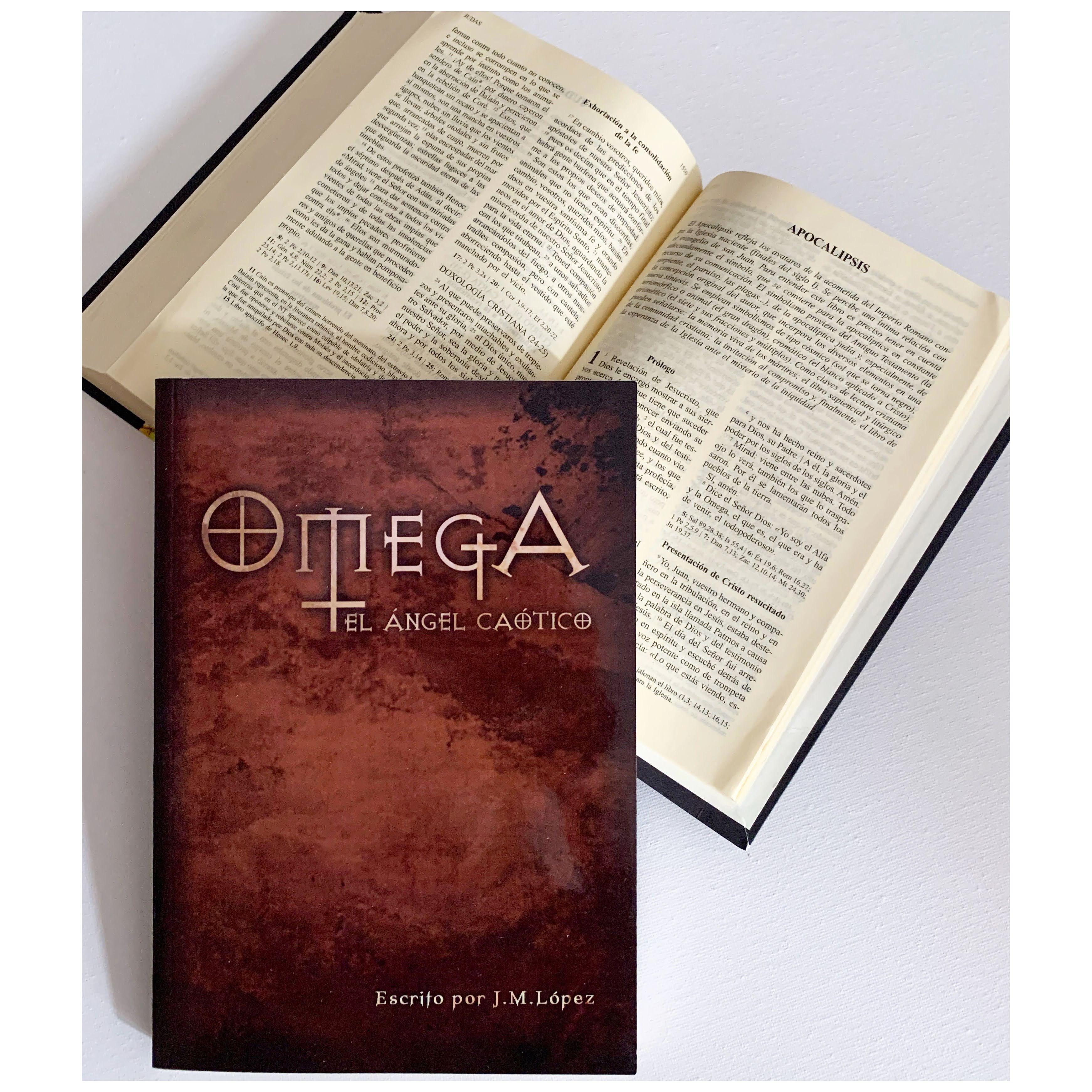"Imagen de Reseña de ""Omega"", de J.M. López."