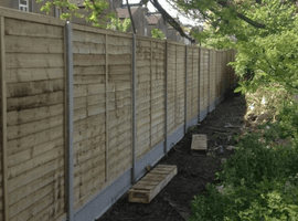 Post and Panel Fencing
