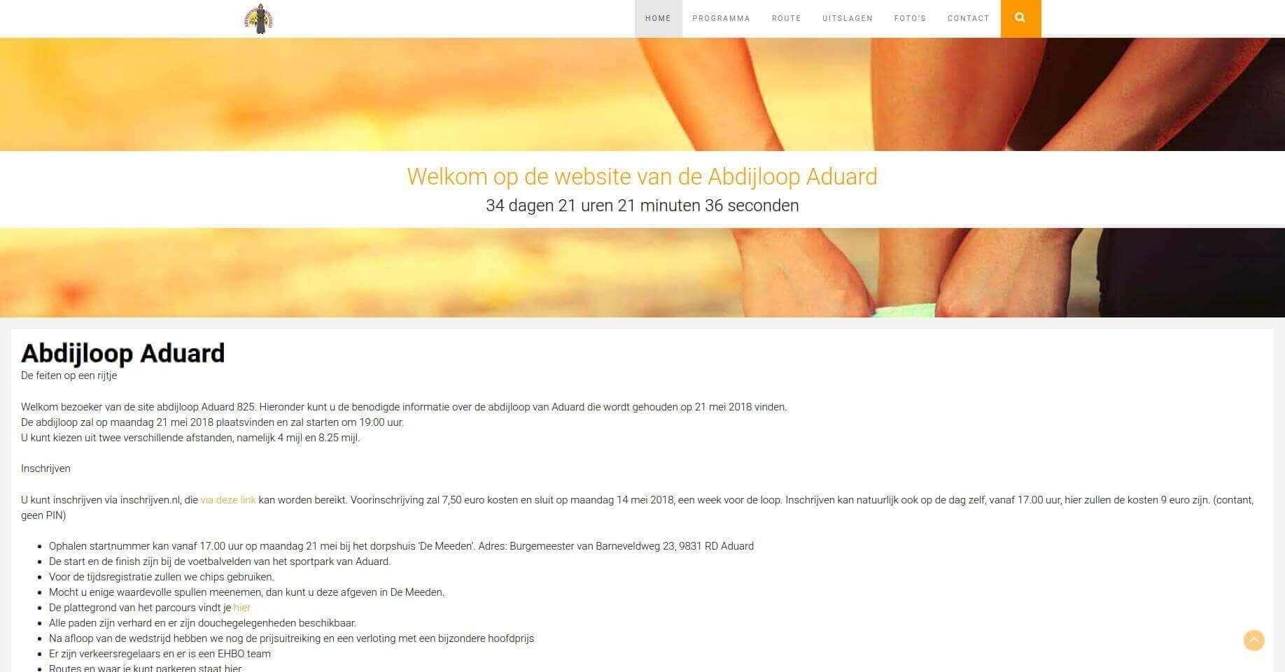 Abdijloop Aduard screenshot