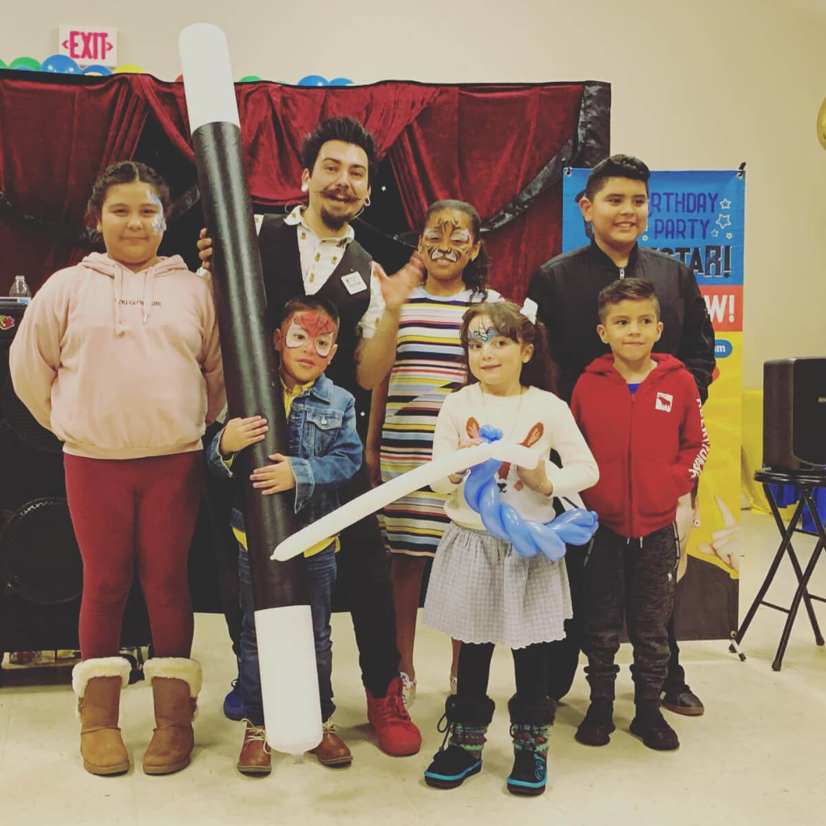 children magic show
