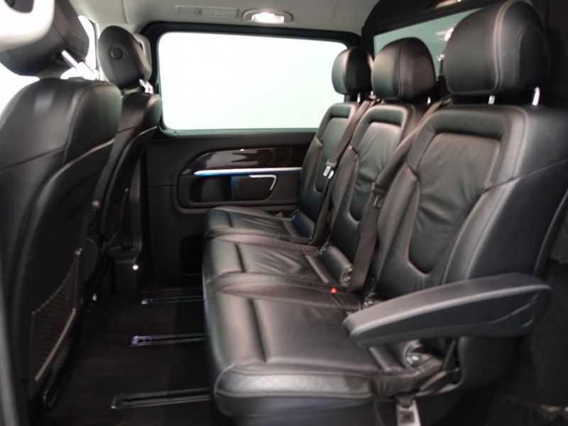 Mercedes-Benz V-Klasse 220 CDI Lang Dubbel Cabine 5/6 Pers Amg Style Autom- Navi, Camera, Xenon afbeelding 9