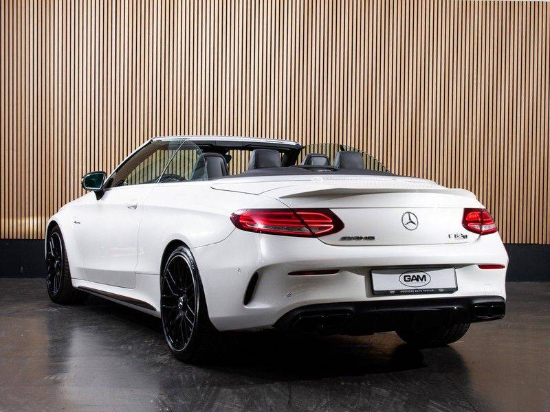 Mercedes-Benz C-Klasse C63 S AMG Cabrio AMG RIDE CONTROL, NIGHTPACK, afbeelding 5