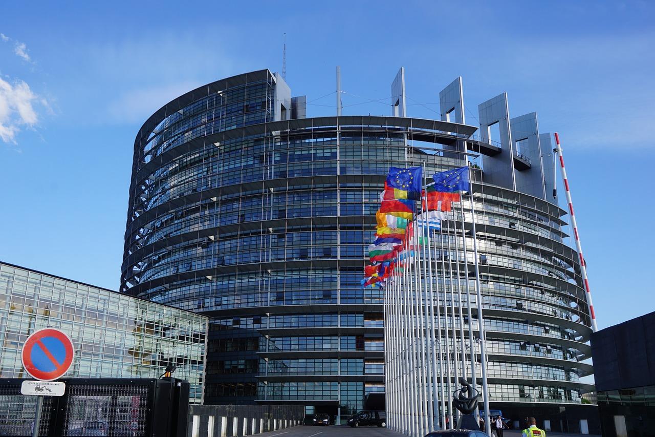 Edificio del Parlamento Europeo a Strasburgo
