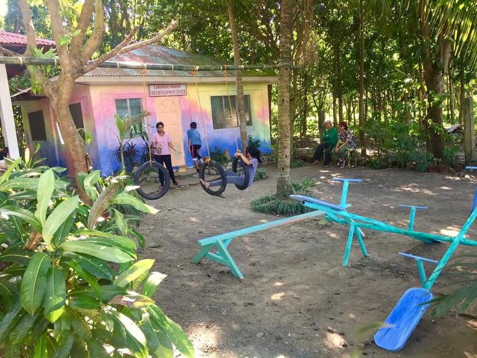 Renovation of barangay day care center by GCWS high school students