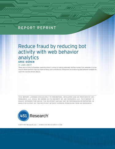 Reduce Fraud - Block Bot Attacks - Web Behavior Analytics
