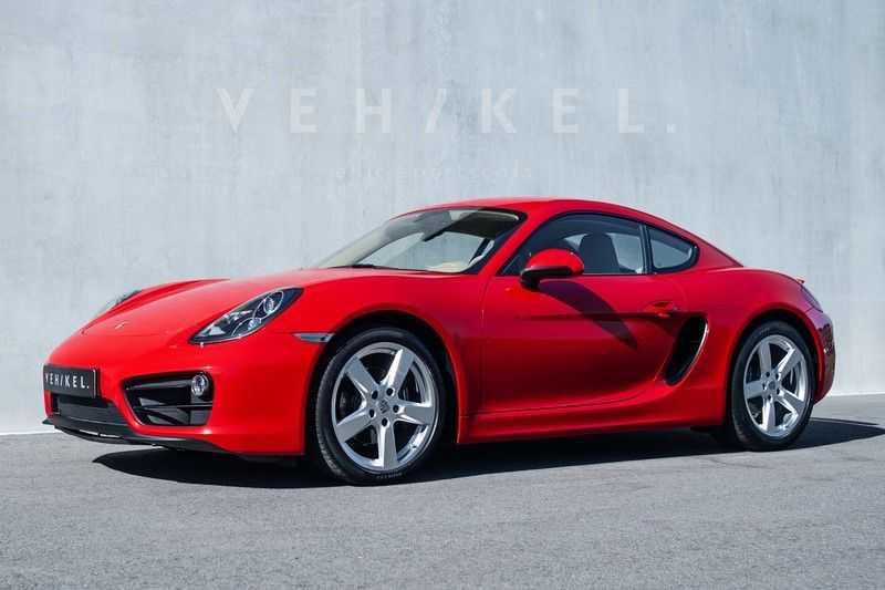 Porsche Cayman 2.7 // Handgeschakeld // Iconic Guards Red afbeelding 2