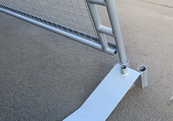 Concord Barrier Frame Foot Connection