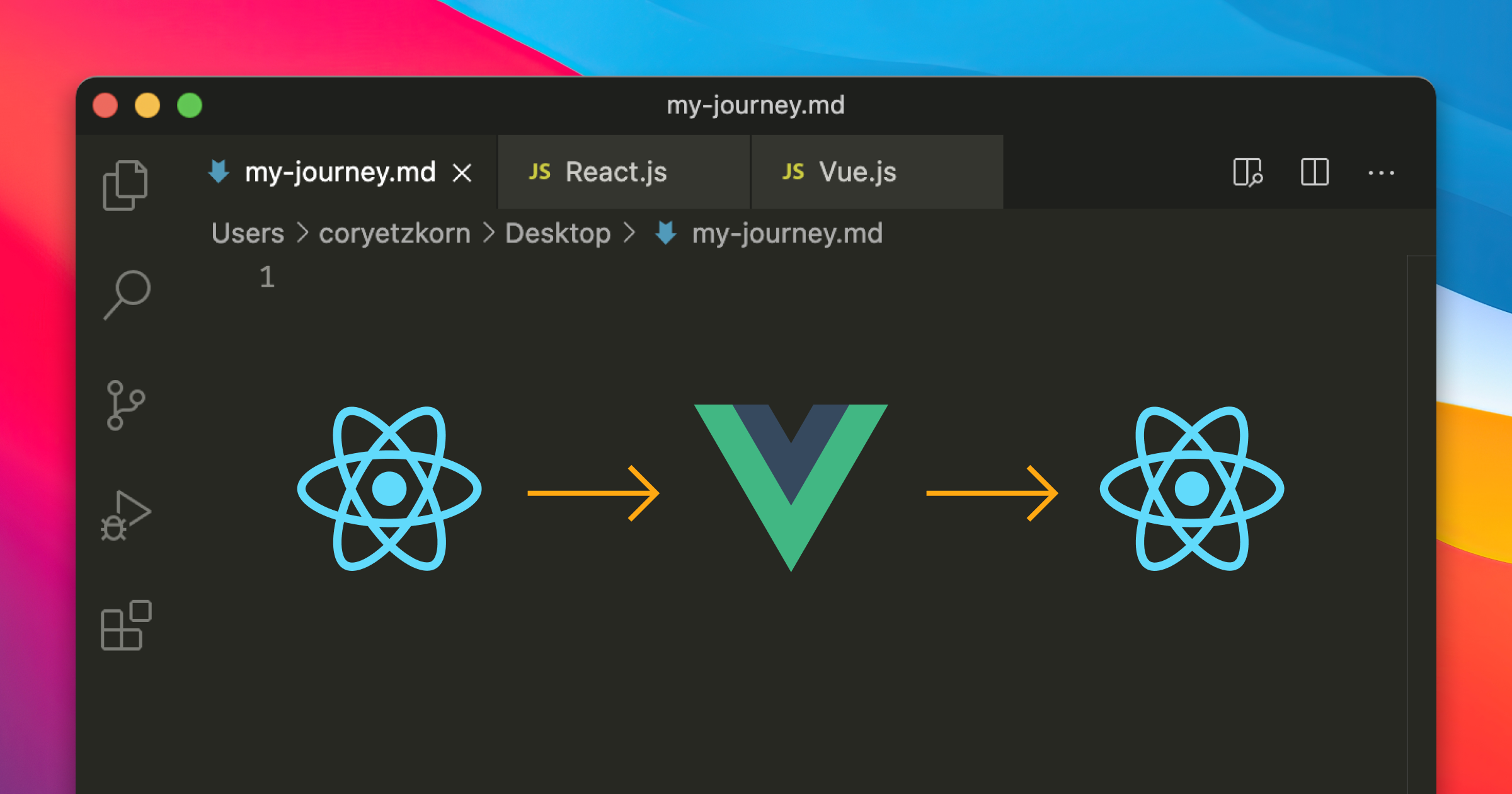 Switching from Vue to React and back again