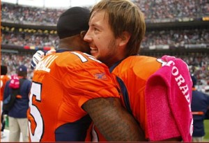 An embrace with Orton