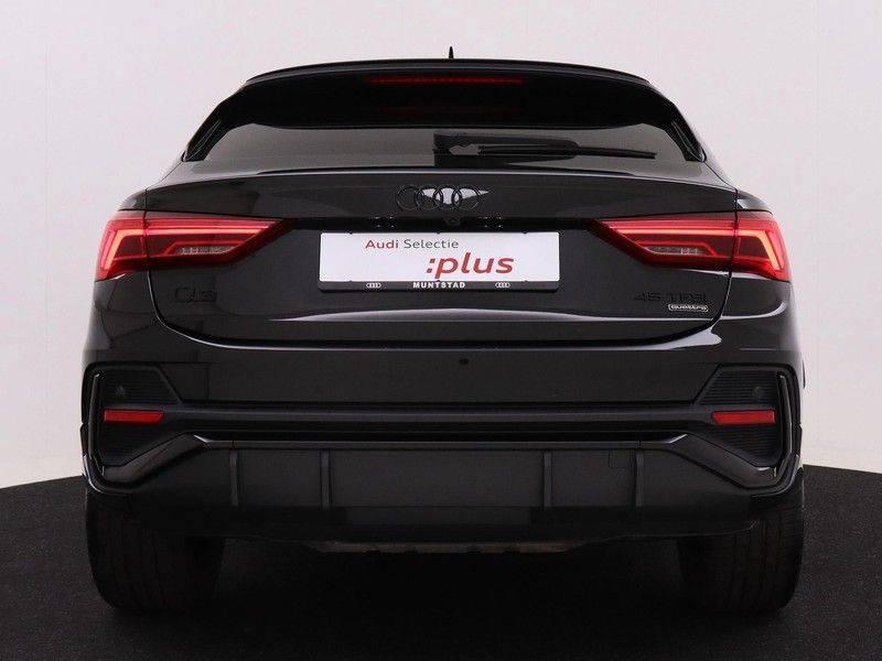 Audi Q3 Sportback 45 TFSI 230 pk quattro Pro Line S Edition | | 2x S line | 20 inch velgen | B&O Sound | Garantie tot 12-2024* | Adaptief demping systeem | 360 Camera | Navigatiesysteem | Adaptive cruise control | Voorstoelen elektrisch verstelbaar | afbeelding 8