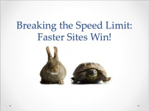 Faster Sites Win