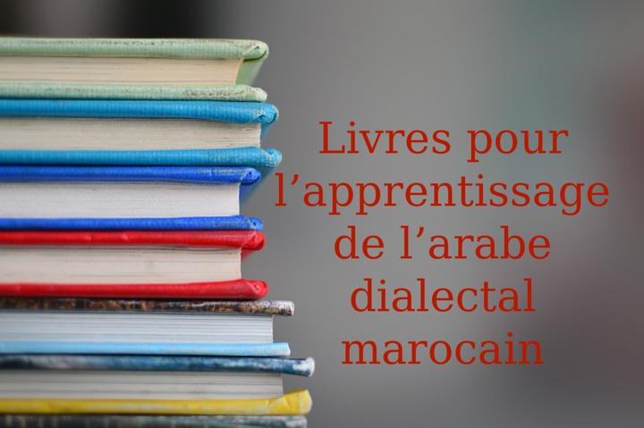 Livres d'arabe marocain