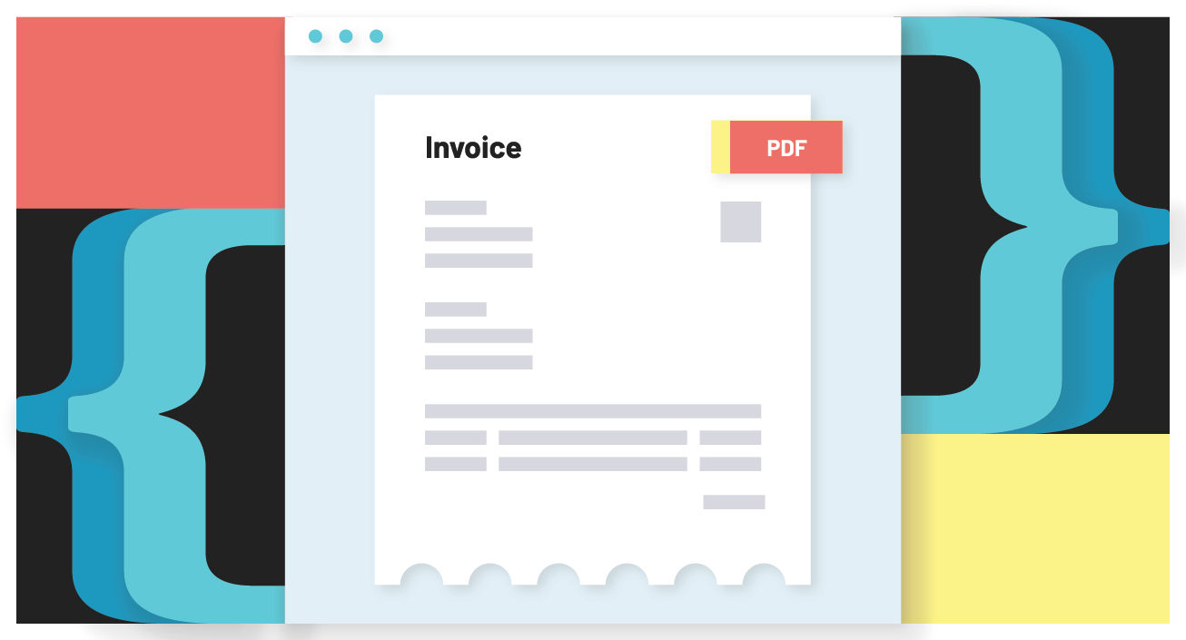 Generate an invoice PDF with Anvil