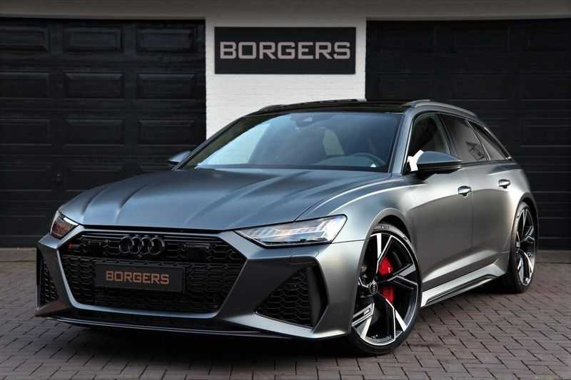 Audi RS6 AVANT EXCLUSIVE+B&O.ADVANCED+DYNAMIC-PLUS+CARBON afbeelding 1