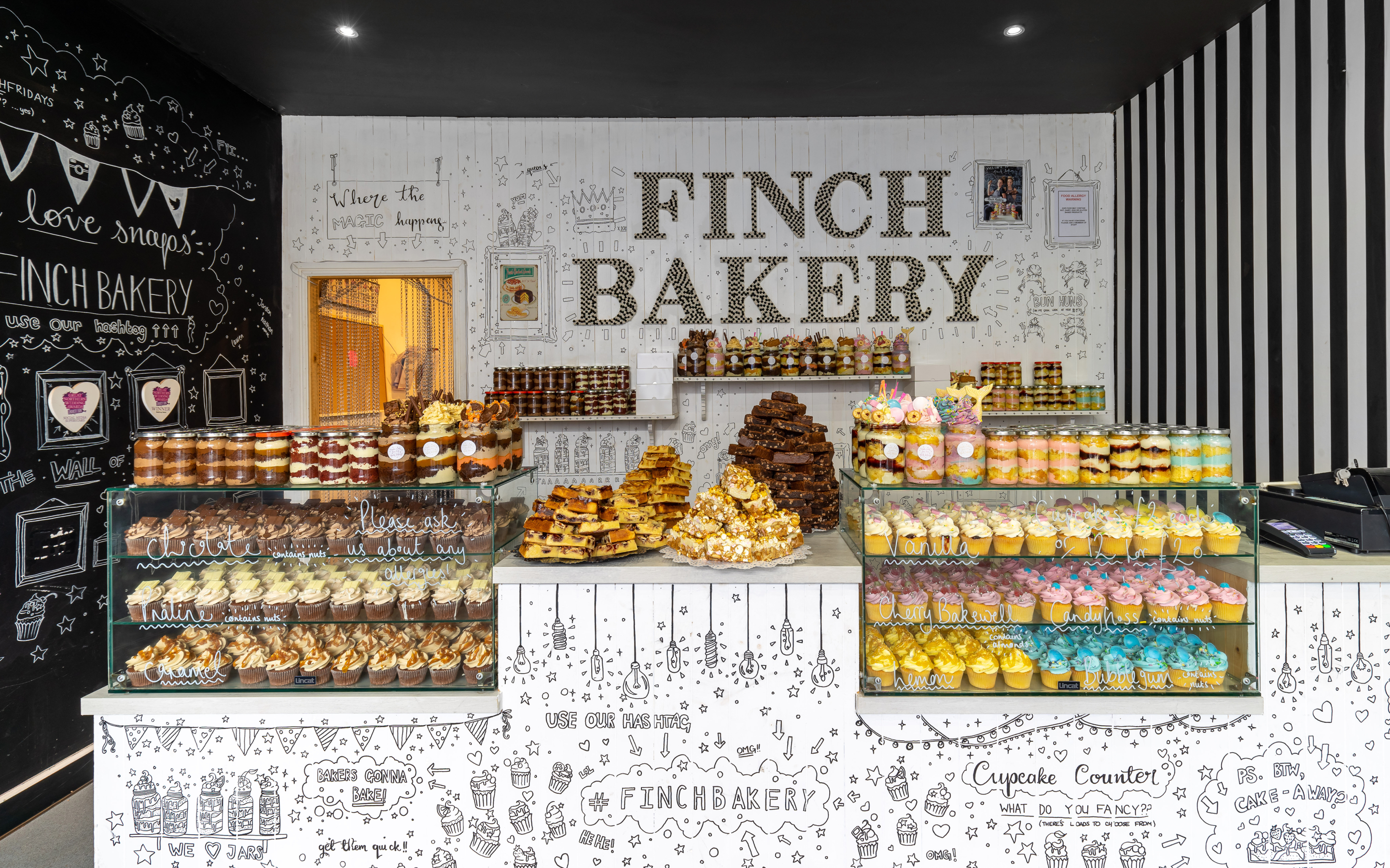 Inside Finch Bakery, an award winning bakery in Lancashire