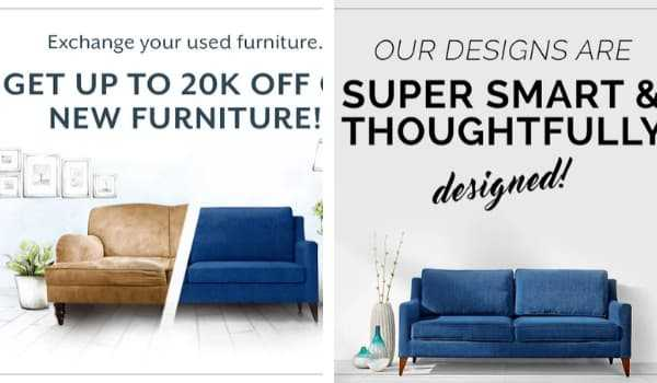 UrbanLadder Online Furniture Shopping Apps in India