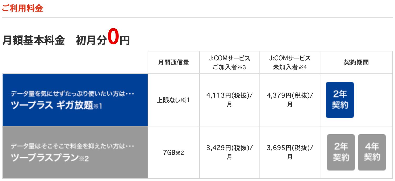 J:COMの会員割引について